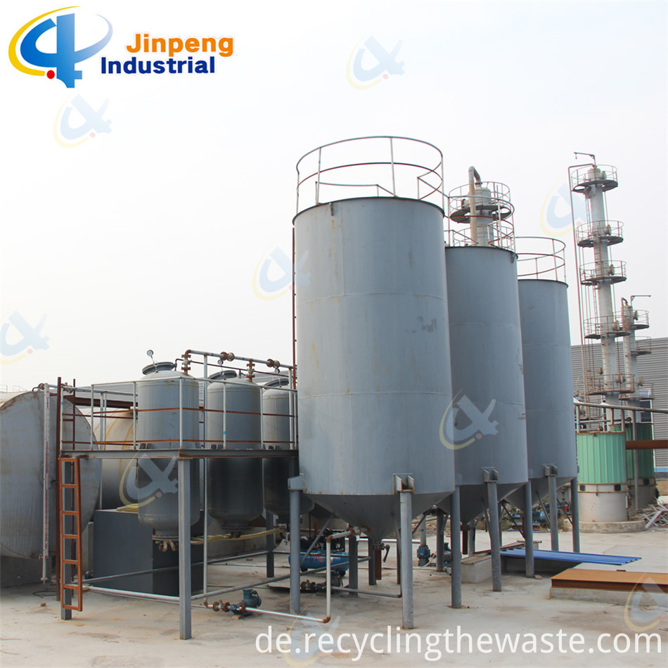 continuous fuel oil recycling machine