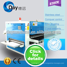 High quality and top sale of 2014 fabric double folding machine