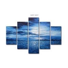 High Quality Canvas Art Seascape Oil Painting (SE-183)