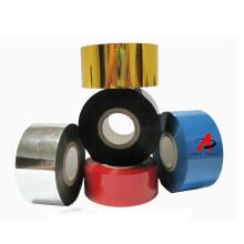 hot print foil AT1 30*100m Black Date code ribbon hot stamping foil