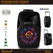 Neue Bass Sound Box Wireless Bluetoth Mobile Tragbare Trolley Lautsprecher