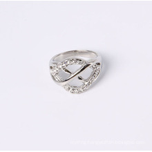 New Design and Fashion Jewelry Ring with Rhinestones