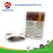 High Quality Doypack Zipper Plastic Cacao Power Bag