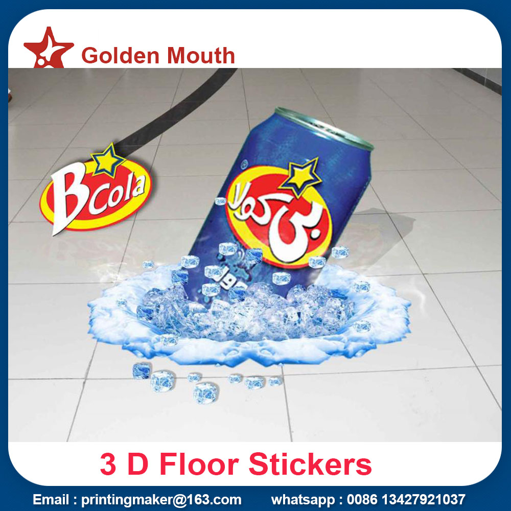 floor vinyl stickers printing