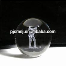 персонализированные 3D лазерная гравировка хрустальный шар для украшения дома