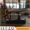 elliptical tank head flanging machine