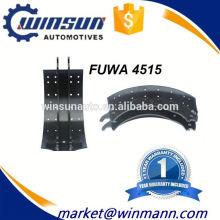 China Hersteller 4515 Bremsbacken in Truck Brake