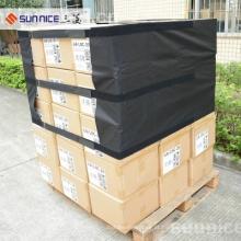 Tampas de paletes de papelão Wrap FIlm Clear Plastic Pallet Covers