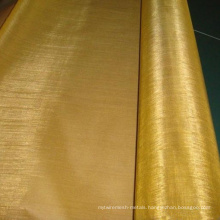 40X40 Copper Brass Mesh / 2mm Brass Wire Mesh