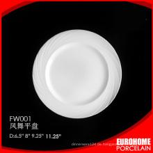 China Eurohome Geschirr Restaurant Hote Bone China Teller