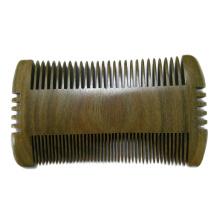 FQ marca amplo bolso de dente pente de barba de cabelo de madeira