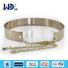 New Design Gold Metal waist Belts for dress