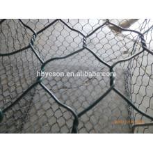 Rock basket wire mesh gabions