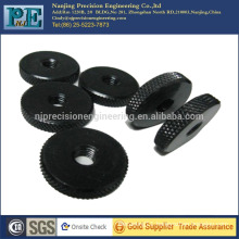 China high precision custom cnc flat nuts for auto parts