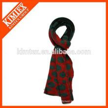 2016 Hot sale acrylic acrylic reverse knit scarf wholesale china