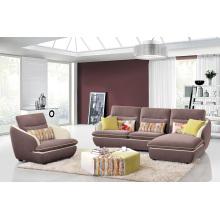 Móveis de sala de estar Sofá Set Sofá de canto de tecido
