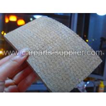 Resina de amianto Rolo de forro de freio tecido