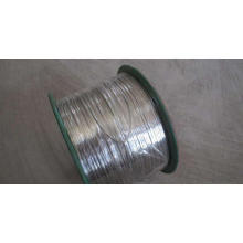 Hot dipped Galvanized wire flat 6mm