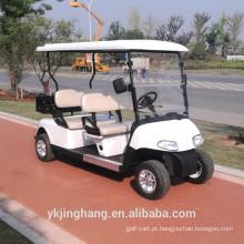 carrinho de golfe policial elétrico com 4 lugares para venda