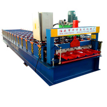 2016 hot sale new design 840 galvanized roofing tile making machine
