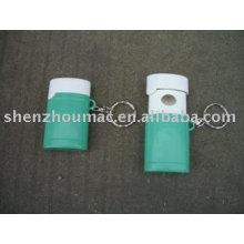 Recipiente de pílula de plástico