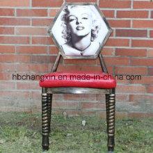 Старинный металлический, Обеденный стул