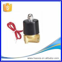 2W025-08 AC230V Válvula solenoide de gas de latón de 2 vías de 2 vías