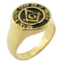 18k Ouro Personalizar Presentes Presentes Souvenirs Anel Masonic