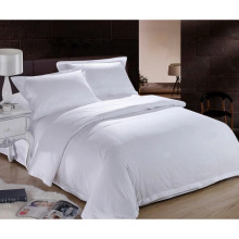 New Collection Bed Modern Style Bed Plain White Hotel/Home Bedding Linen (WS-2016234)