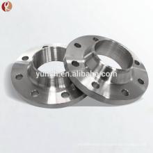 Ansi B16.5 Gr2 150# Dn25 Wnrf Titanium Forged Flange/ Titanium Pipe Flange
