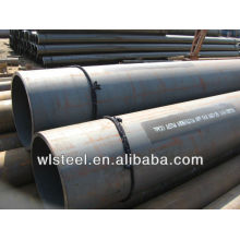 large diameter hot roll pipe steel welding ASTM A106/A53 mill