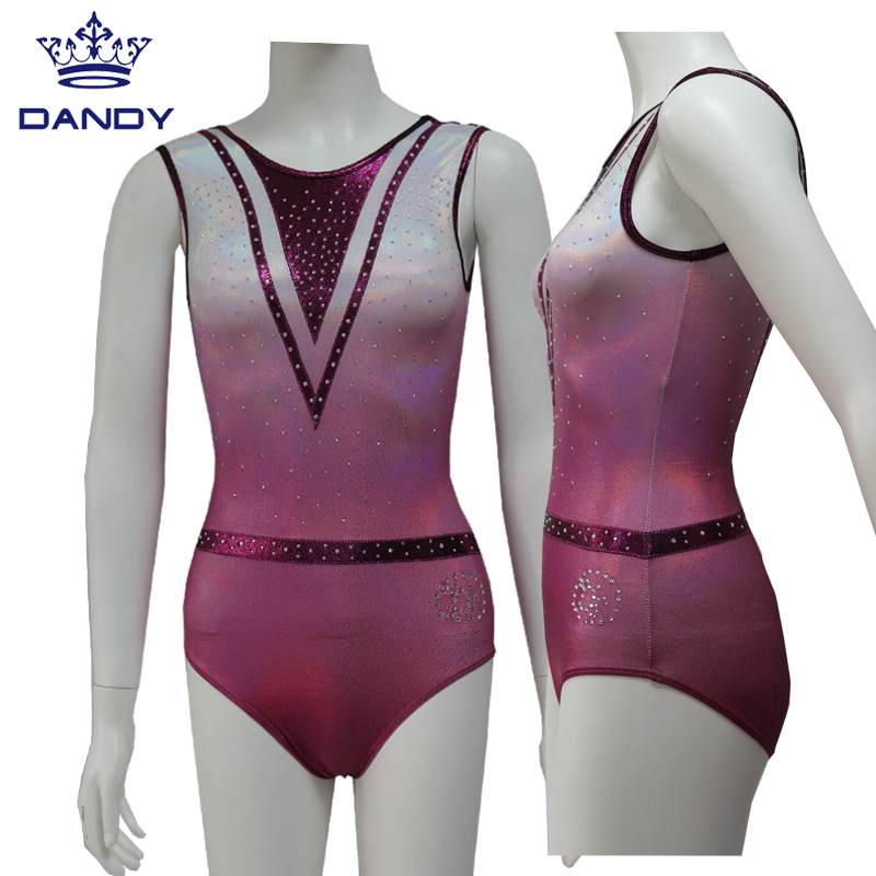 girls pink leotard