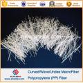 Concrete Fiber Reinforcement PP Wave Fiber
