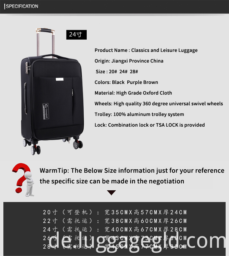 oxford luggage