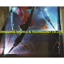 Lattice girder welding line, truss girder welding machine, USED