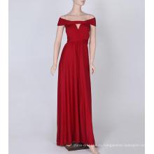 Тонкие и без ребер ленты длинное платье невесты с цветами