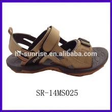 Sandalias planas del nuevo diseño de la playa de la manera nuevas sandalias del diseño para los hombres sandalias de los deportes de los hombres