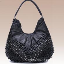 Retro Wool Leather Fashion Handbags