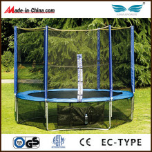 Outdoor Junior Round Jumping Trampoline with Safety Net