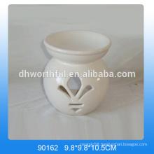 Simple design white oil burner ceramic in high quality