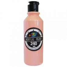 180 ML vente chaude peinture acrylique jaune bouteille personnalisée acrylique peinture au latex en aérosol
