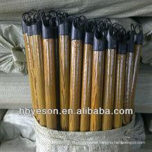 pvc cover wooden broom handle 2.2*120cm