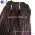 Wholesale Alibaba 2018 New Balayage Color Double Drawn Clip In Hair Extensions