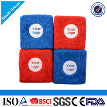 Alibaba Top Supplier Promotional Wholesale Custom Flag Wrist Sweatbands