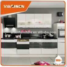 Hot selling factory directly prefab lacquer kitchen cabinet