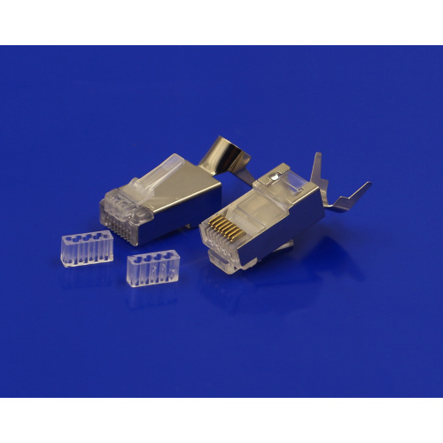 Connettore Cat7 sftp RJ45 spina cat7