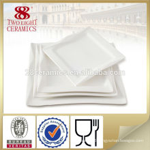 Chinese dinner plate for weddings 10 inch square sushi dish