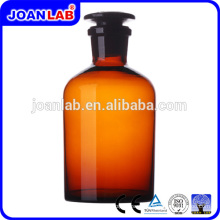 Garrafa De Reagente De Vidro Amber Wide Bouan JOAN para uso em laboratório