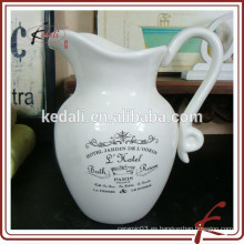 Venta al por mayor de porcelana de cerámica de agua de la jarra