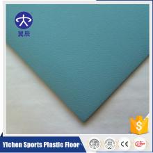 Revêtement de PVC qui respecte l'environnement de revêtement UV pour le plancher de jardin d'enfants